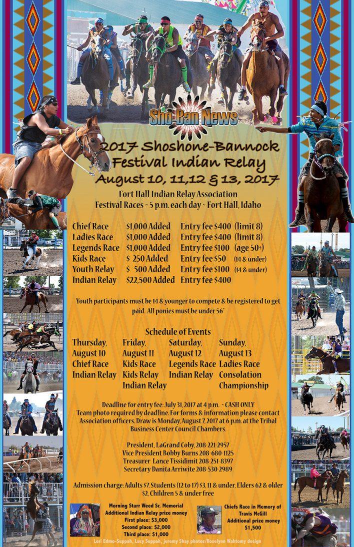 Indian Relay Racing - Shoshone-Bannock Festival 2017