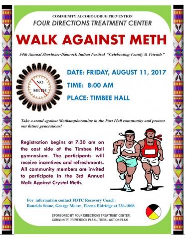 WALK AGAINST METH 2017