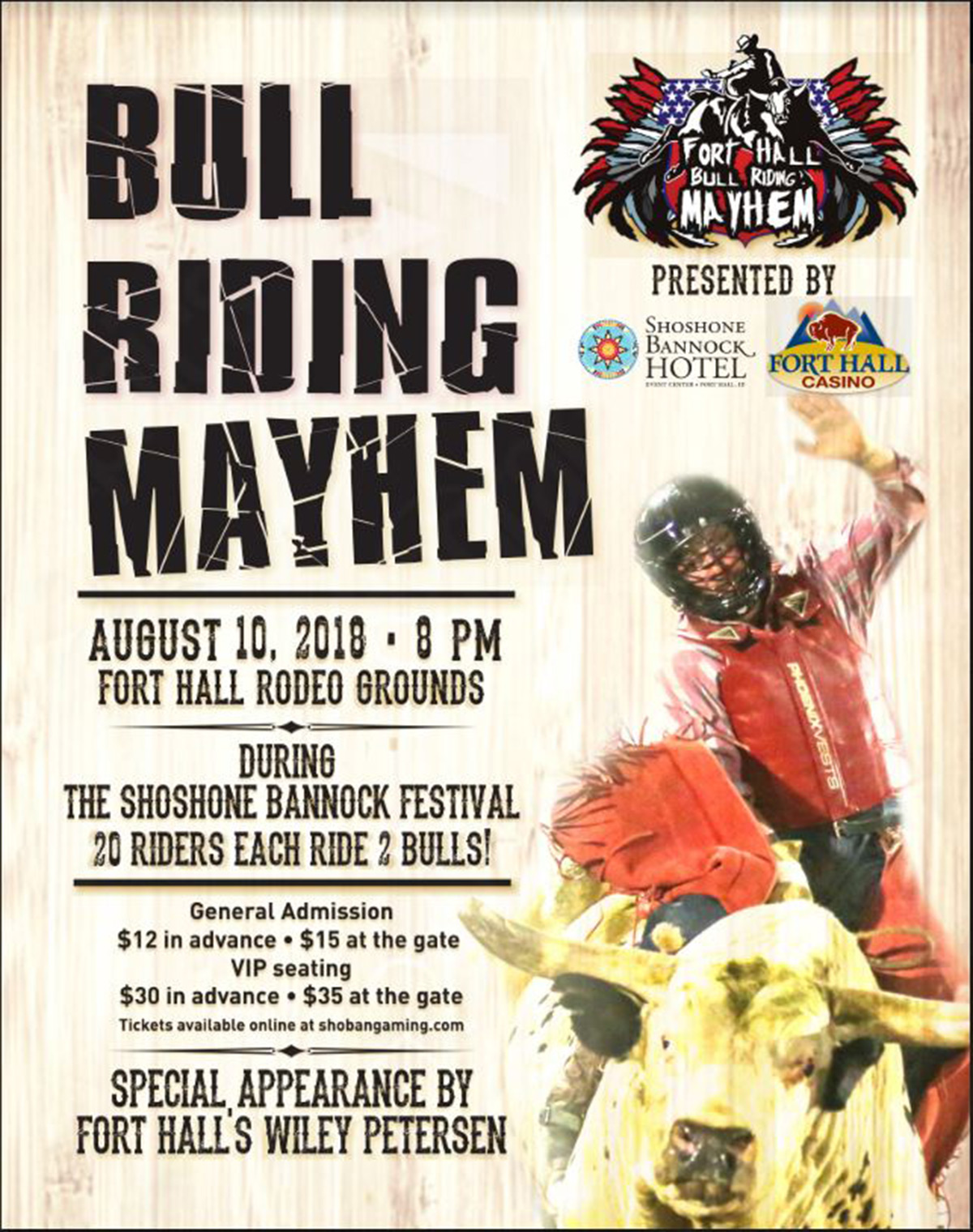 Bull Riding Mayhem