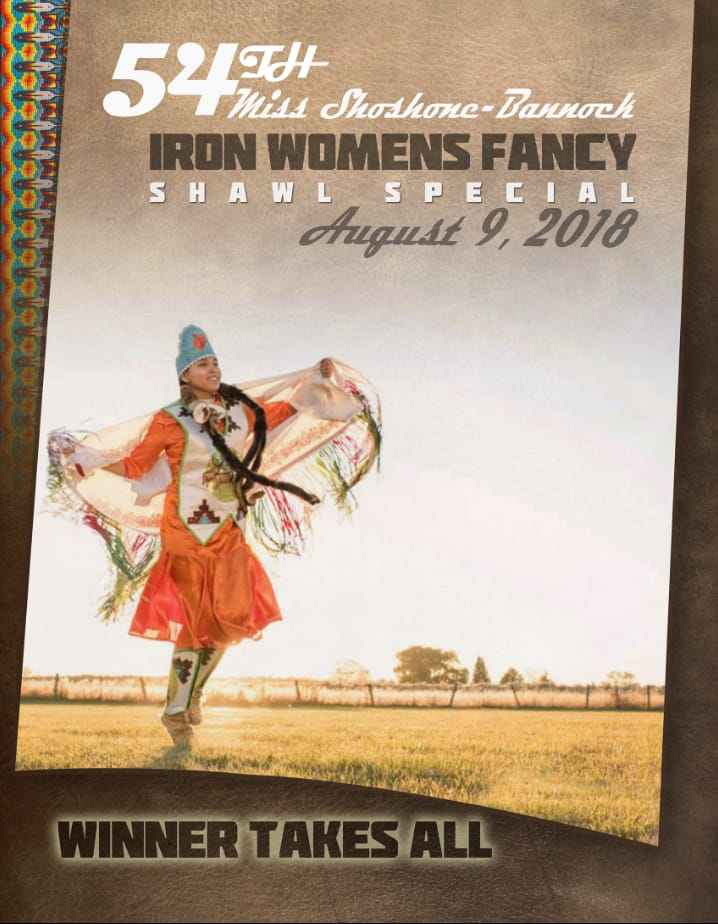 54th Miss Shoshone-Bannock - Iron Womens Fancy