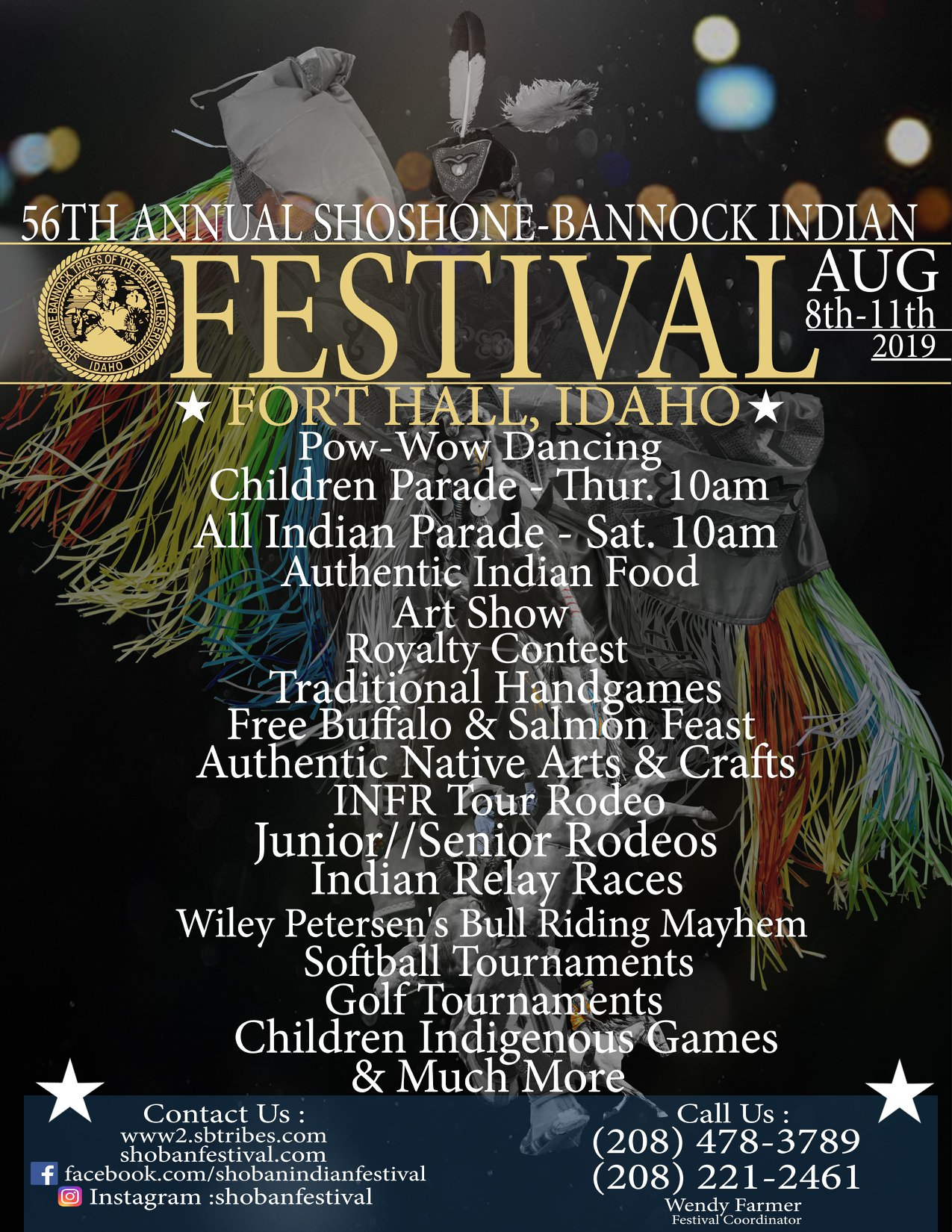 Shoshone-Bannock Indian Festival, Fort Hall Idaho