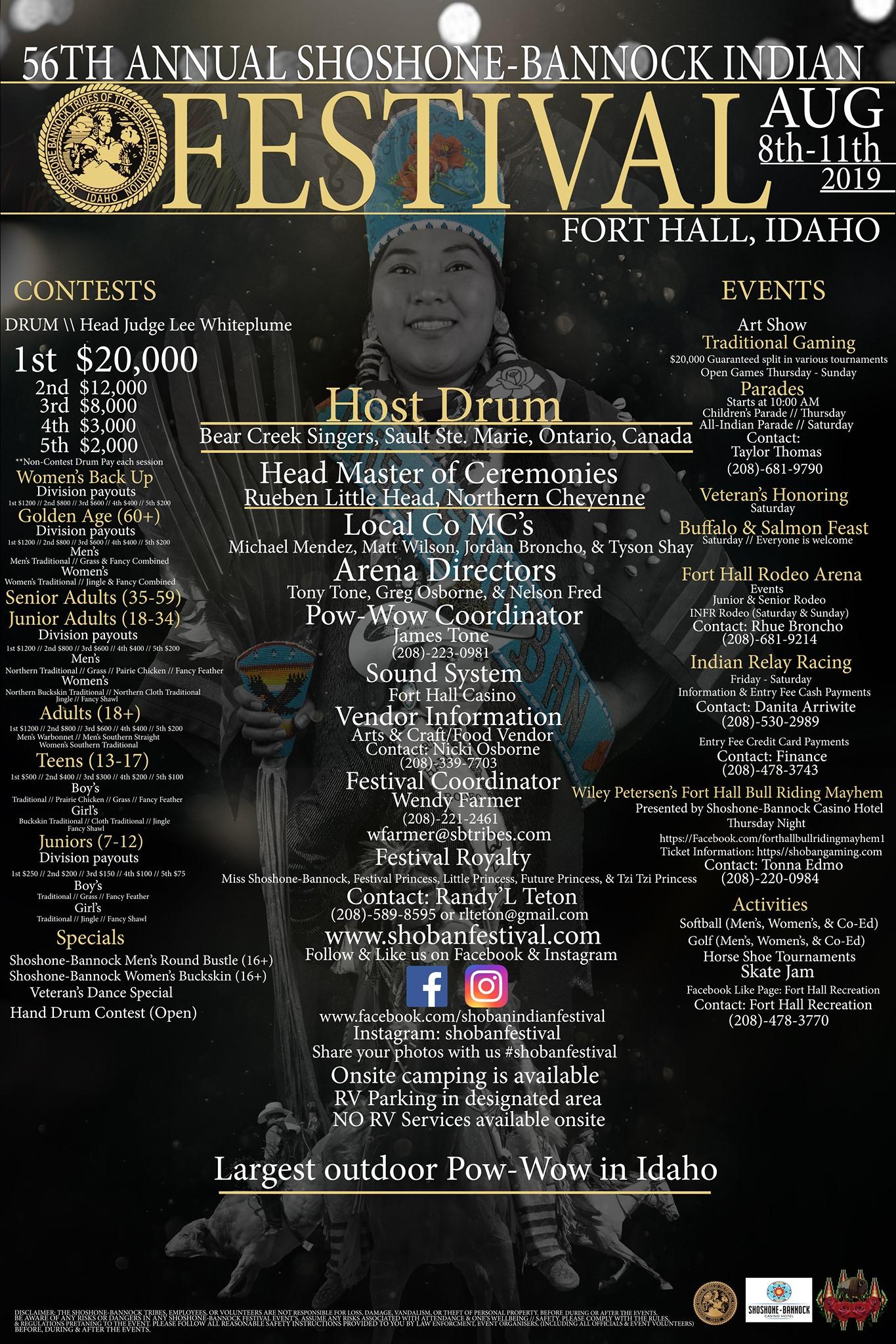 Shoshone-Bannock Indian Festival, Fort Hall Idaho